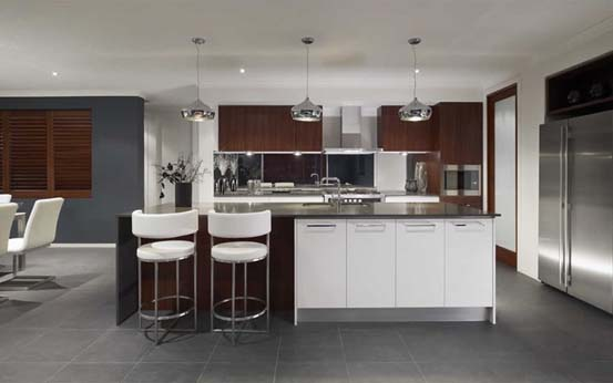 Victoria mba best display home 300 000 350 000 award for Metricon kitchen designs