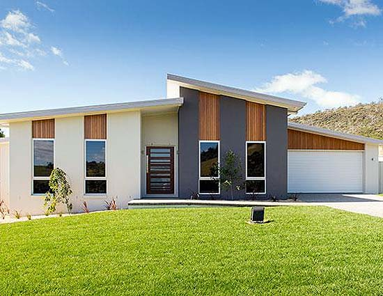 Manhattan by wilson hia 2014 tasmania display home of the year front of house