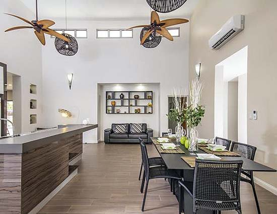 Summer Breeze by Northern Star Homes - 2014 HIA Northern Territory Display Home of the Year - dining and living area