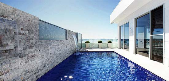 Master builders association nsw 2014 building excellence for Pool design newcastle