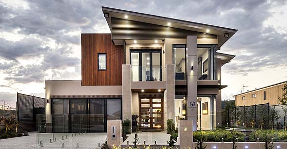 The Curzon by Mayfair Homes front view