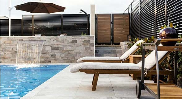 The Curzon by Mayfair Homes pool area