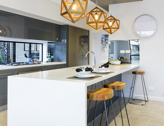 The Albatross by Lockstar Homes - HIA 2014 Murray River region Display Home of the Year - lounge and dining