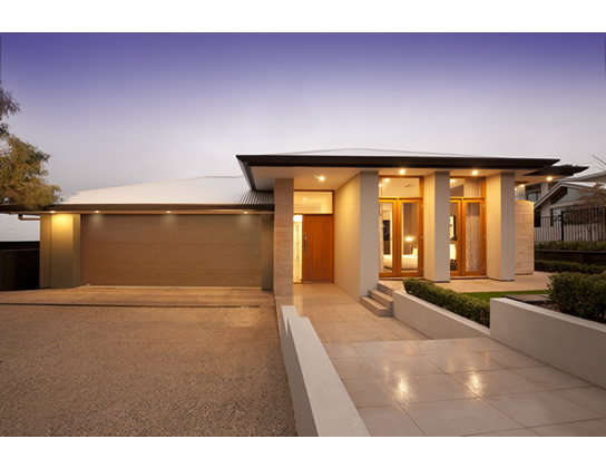 Chicago 55 by Metricon Homes - HIA 2014 South Australia Display Home of the Year - front of house