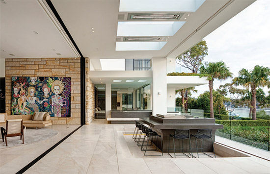 Foreshore by Better Building Services - winner of the HIA Display Home of the Year - living area
