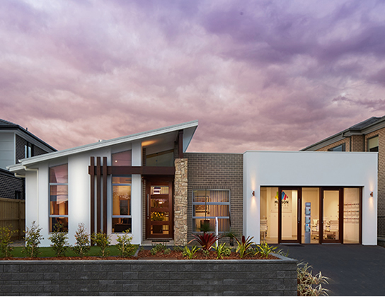 The Albatross by Lockstar Homes - HIA 2014 Murray River region Display Home of the Year - front
