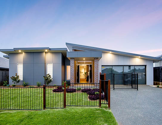 The Cebel by Adenbrook Homes, Port Macquarie  -  2014 HIA Northern Display Home of the Year - front