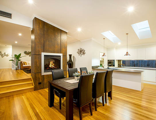 The Cebel by Adenbrook Homes, Port Macquarie  -  2014 HIA Northern Display Home of the Year - family area