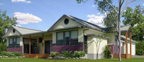 Hervey Bay sustainable home exterior
