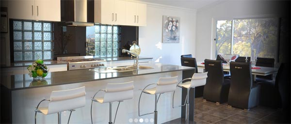 Suncrest Homes display home featuring kitchen